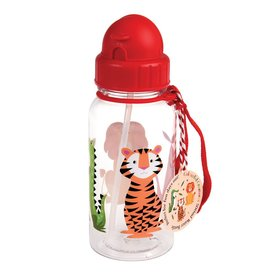 Fles rietje dieren