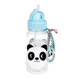 Fles rietje panda