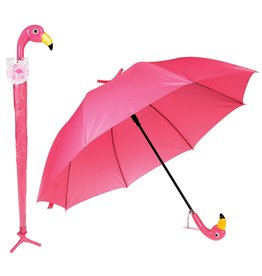 Paraplu groot flamingo