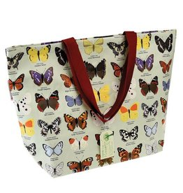 Shopper XL vlinder
