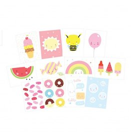 Set kaartjes kawaii