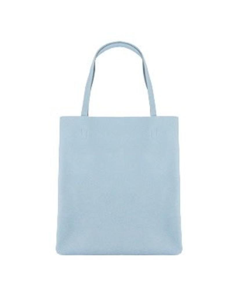 Shopper rits licht blauw