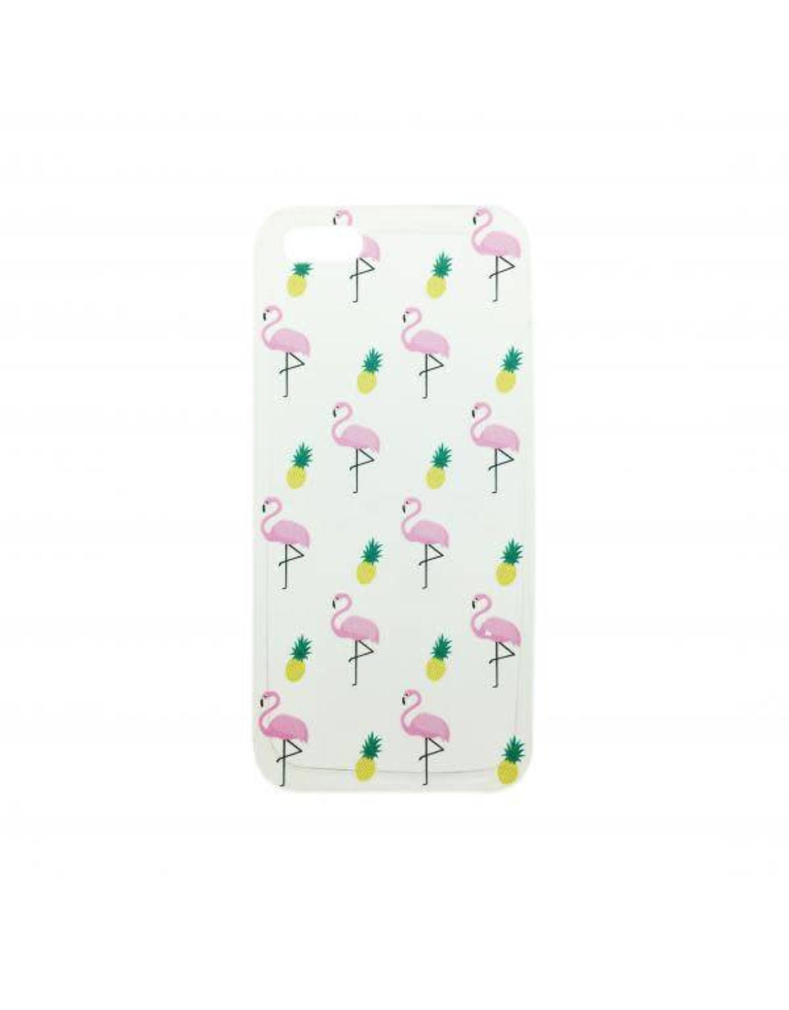 Hoesje iPhone flamingo 7+