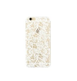 Hoesje iPhone kant wit 5