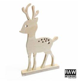 Houten bambi