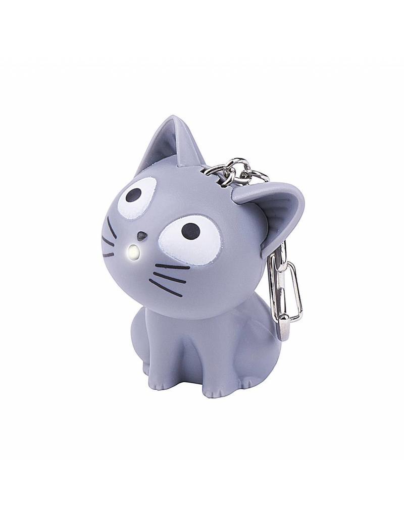 Sleutelhanger LED kat