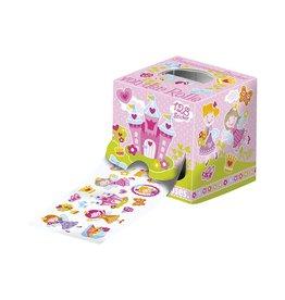 Stickerrol prinsessen