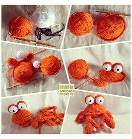 Gehaakte krab