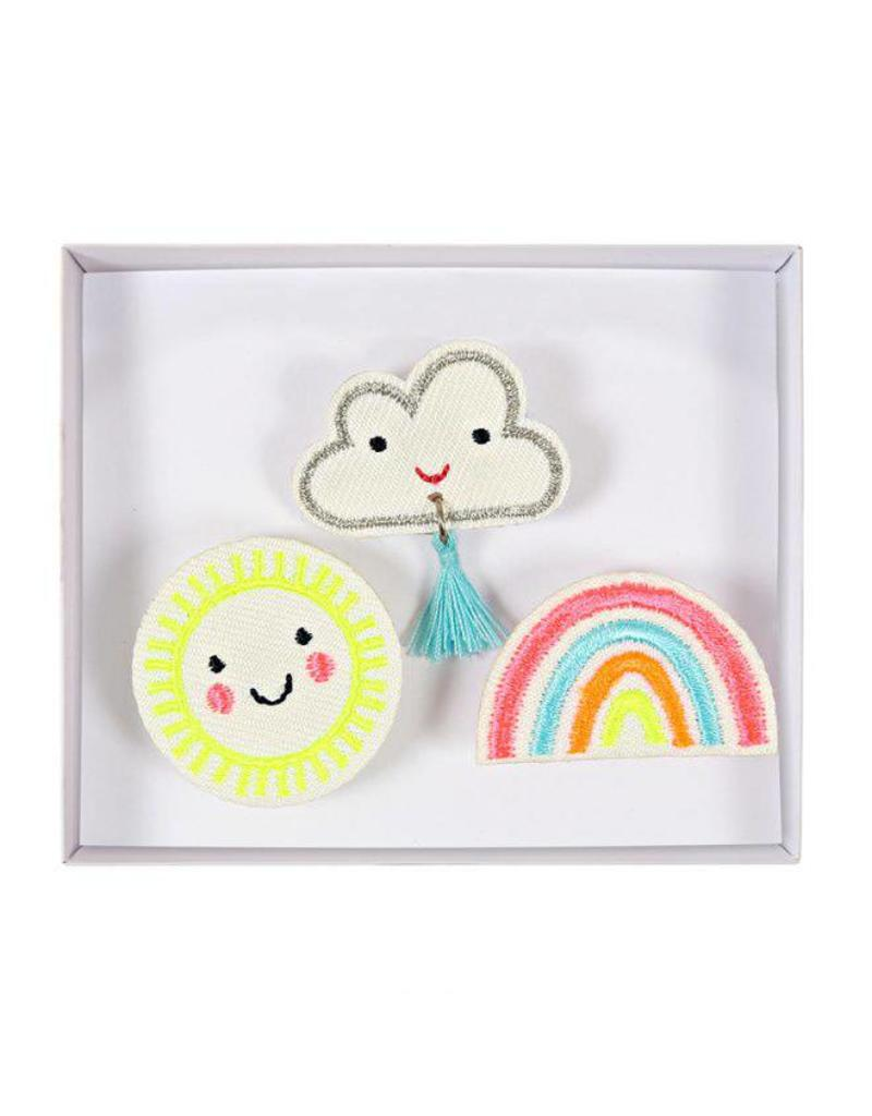 Broches wolk