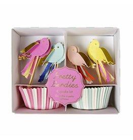 Cupcakes vogel