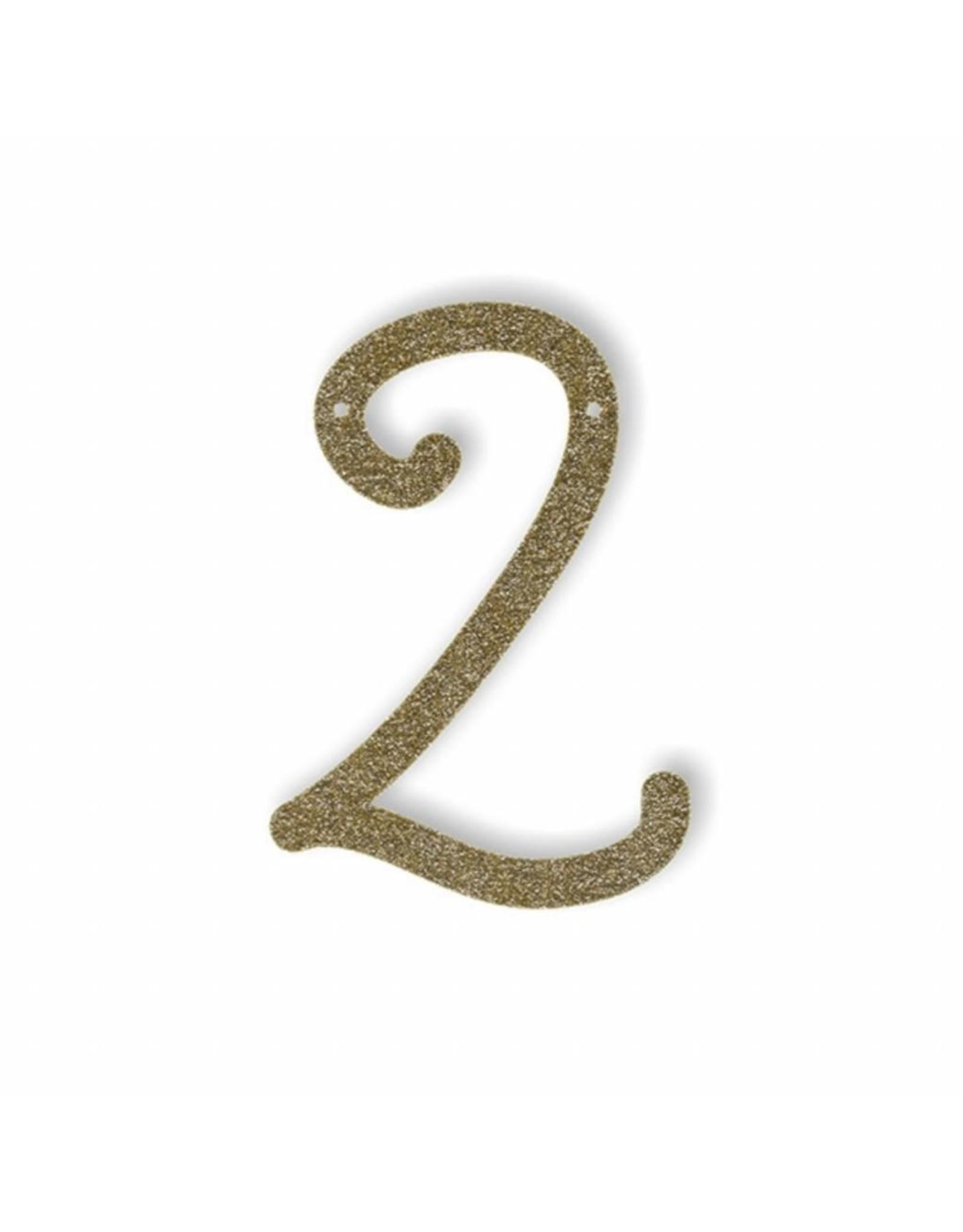 Gouden letter 2