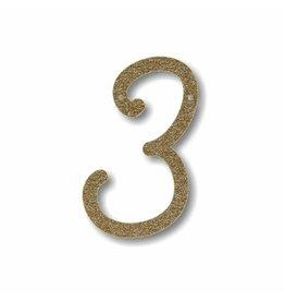 Gouden letter 3