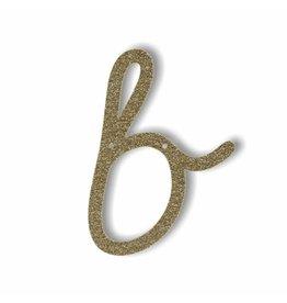Gouden letter B