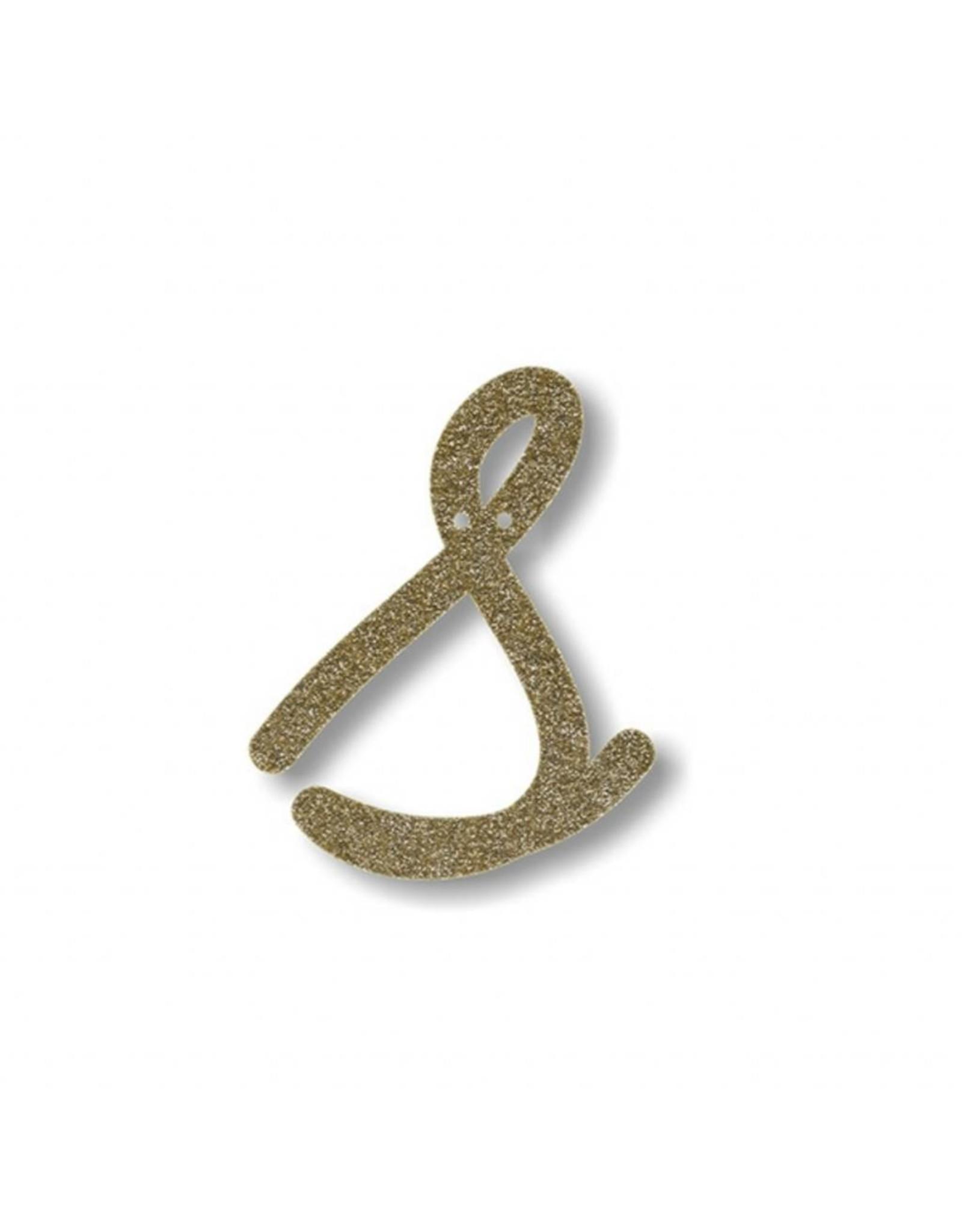 Gouden letter S