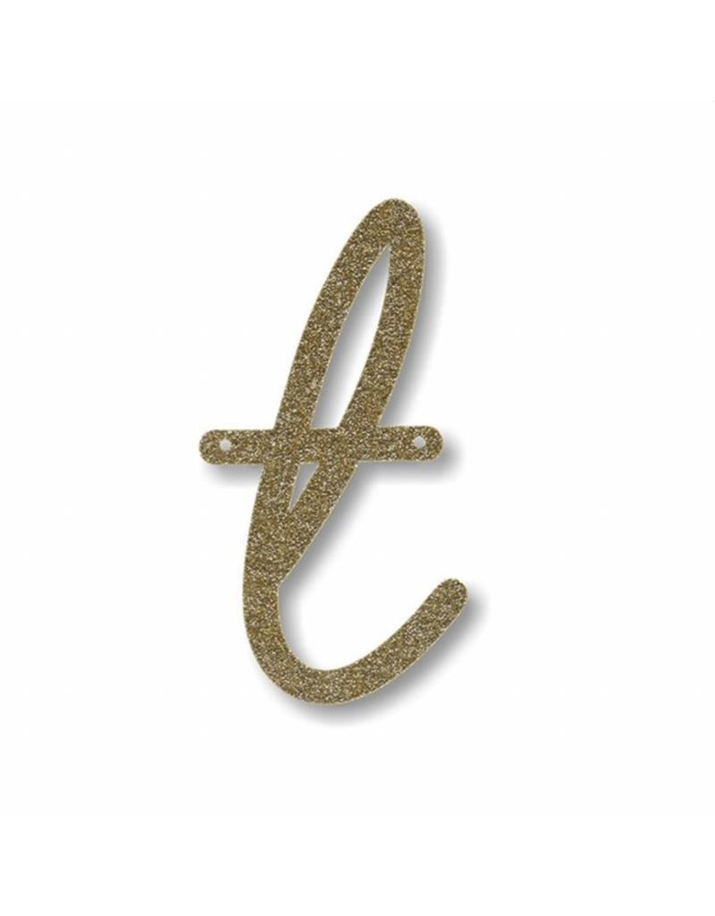 Gouden letter T