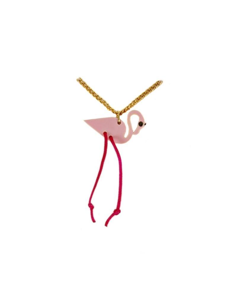 Ketting flamingo