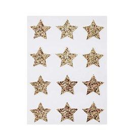 Stickervel glitter ster