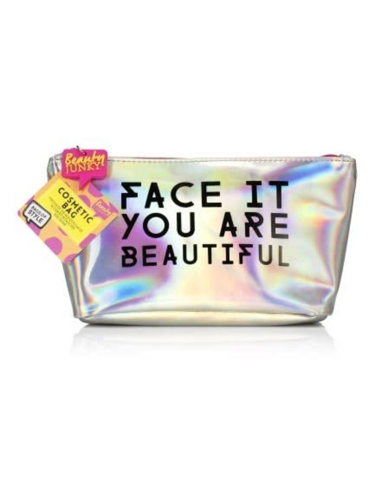Toiletzakje Face it you are beautiful