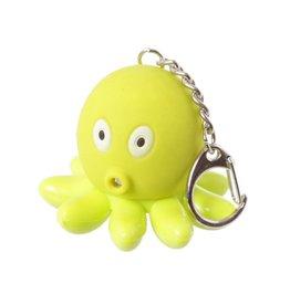 Sleutelhanger LED octopus