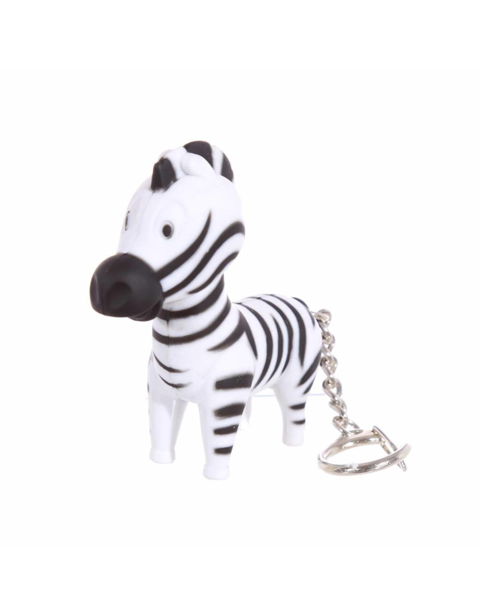 Sleutelhanger LED zebra