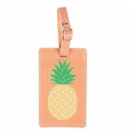 Kofferlabel ananas