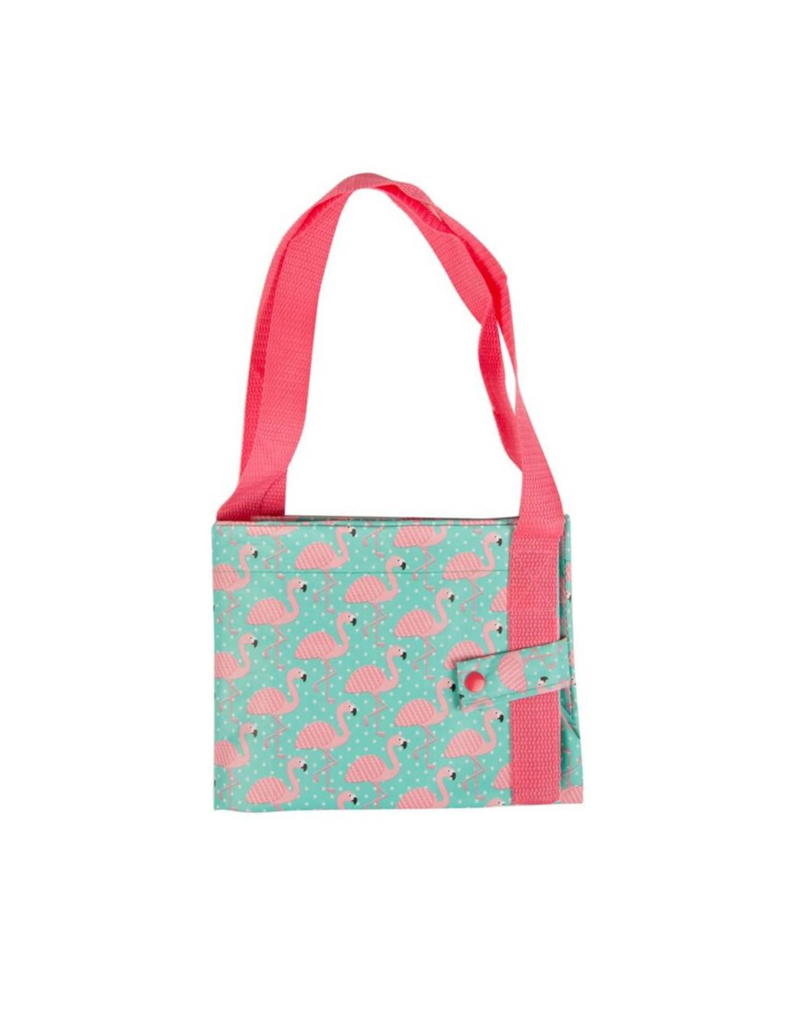Shopper flamingo drukknoop