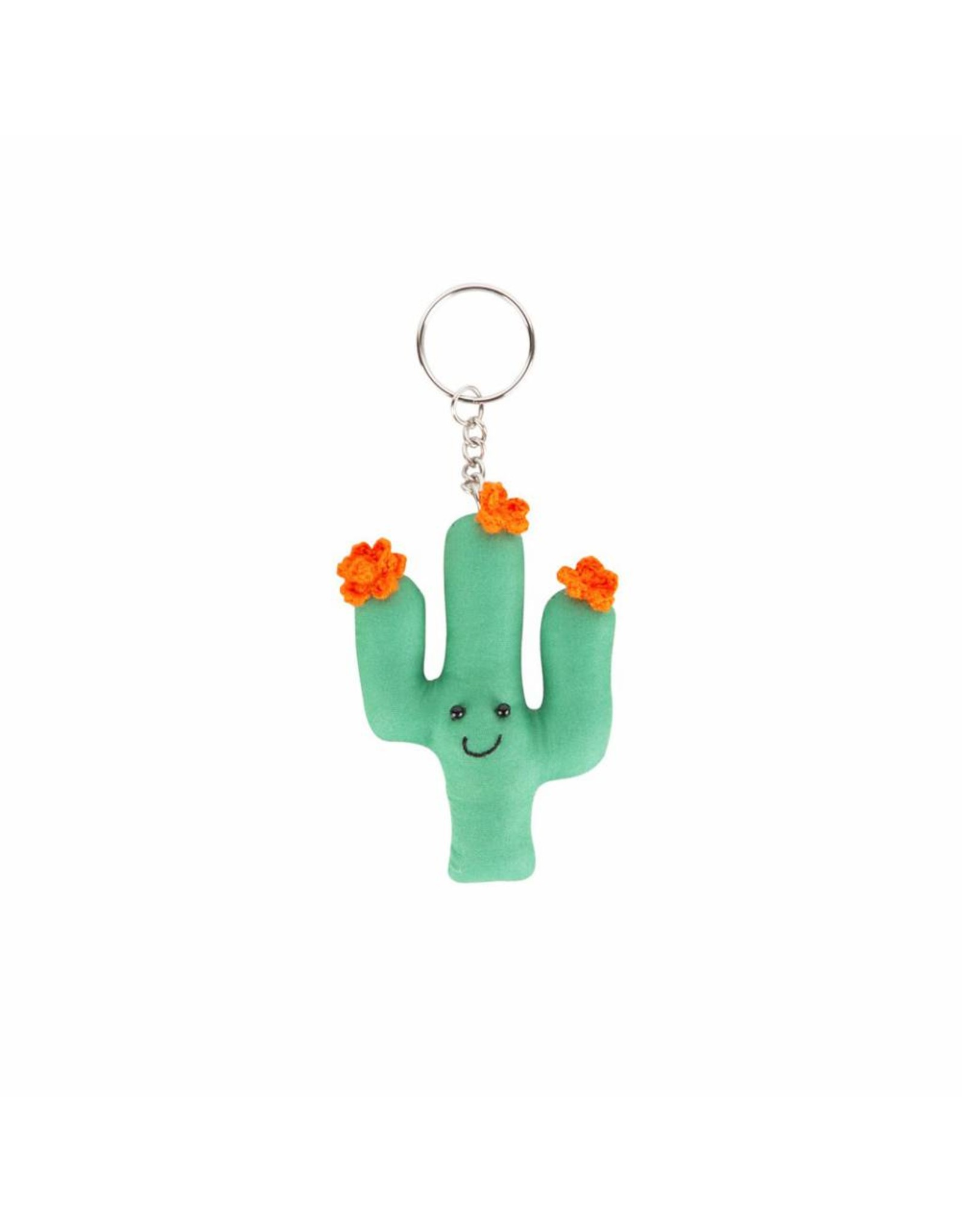 Sleutelhanger cactus effen
