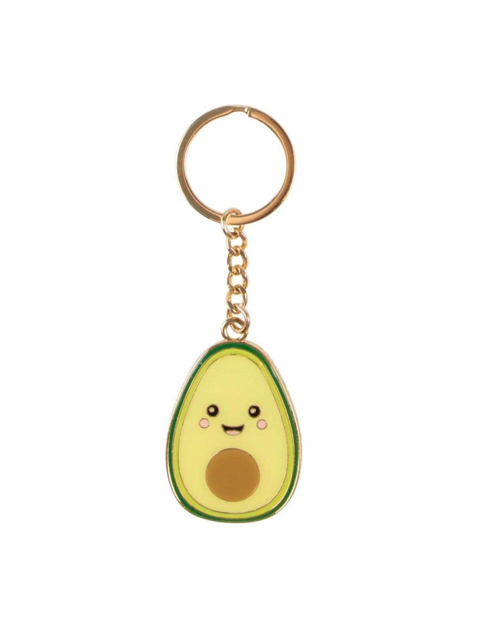 Sleutelhanger email avocado