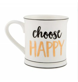 Tas goudfolie choose happy