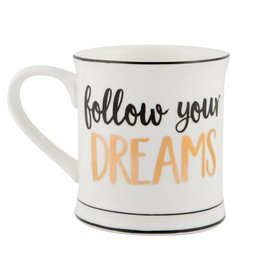 Tas goudfolie Follow your dreams