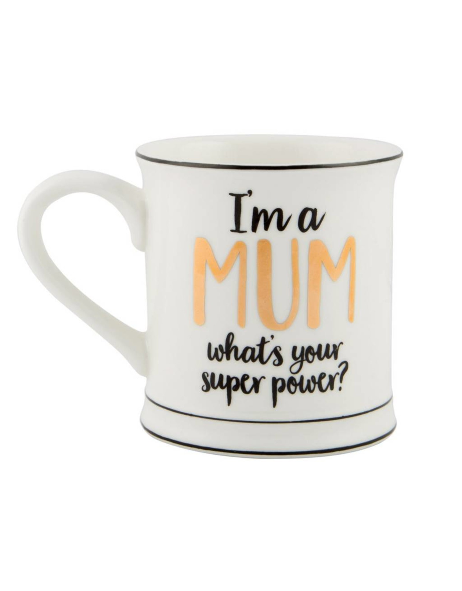 Tas goudfolie I'm a mum
