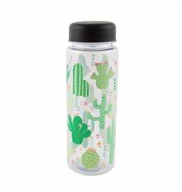 Waterfles cactus