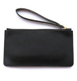 Portemonnee/clutch zwart