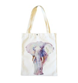 Shopper canvas olifant