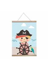 Poster A3 piraat