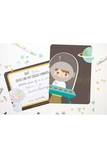 Uitnodigingen astronaut