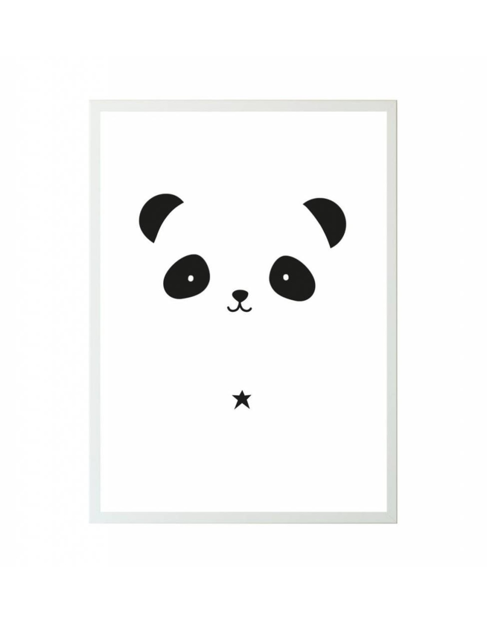 Poster 50x70 panda