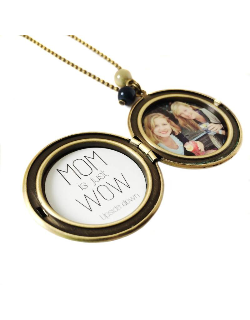 Locket pauw patroon