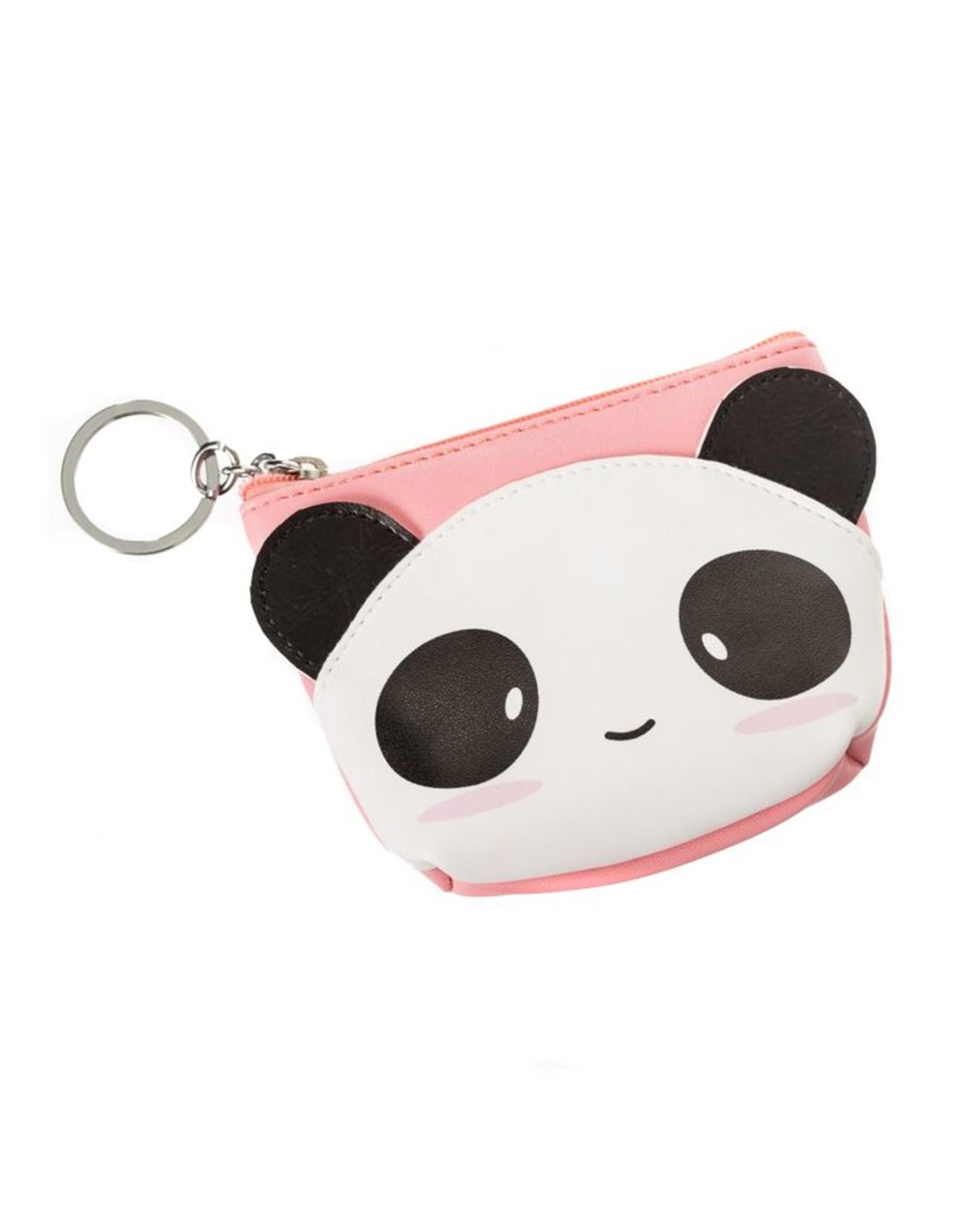 Portemonneetje panda roze