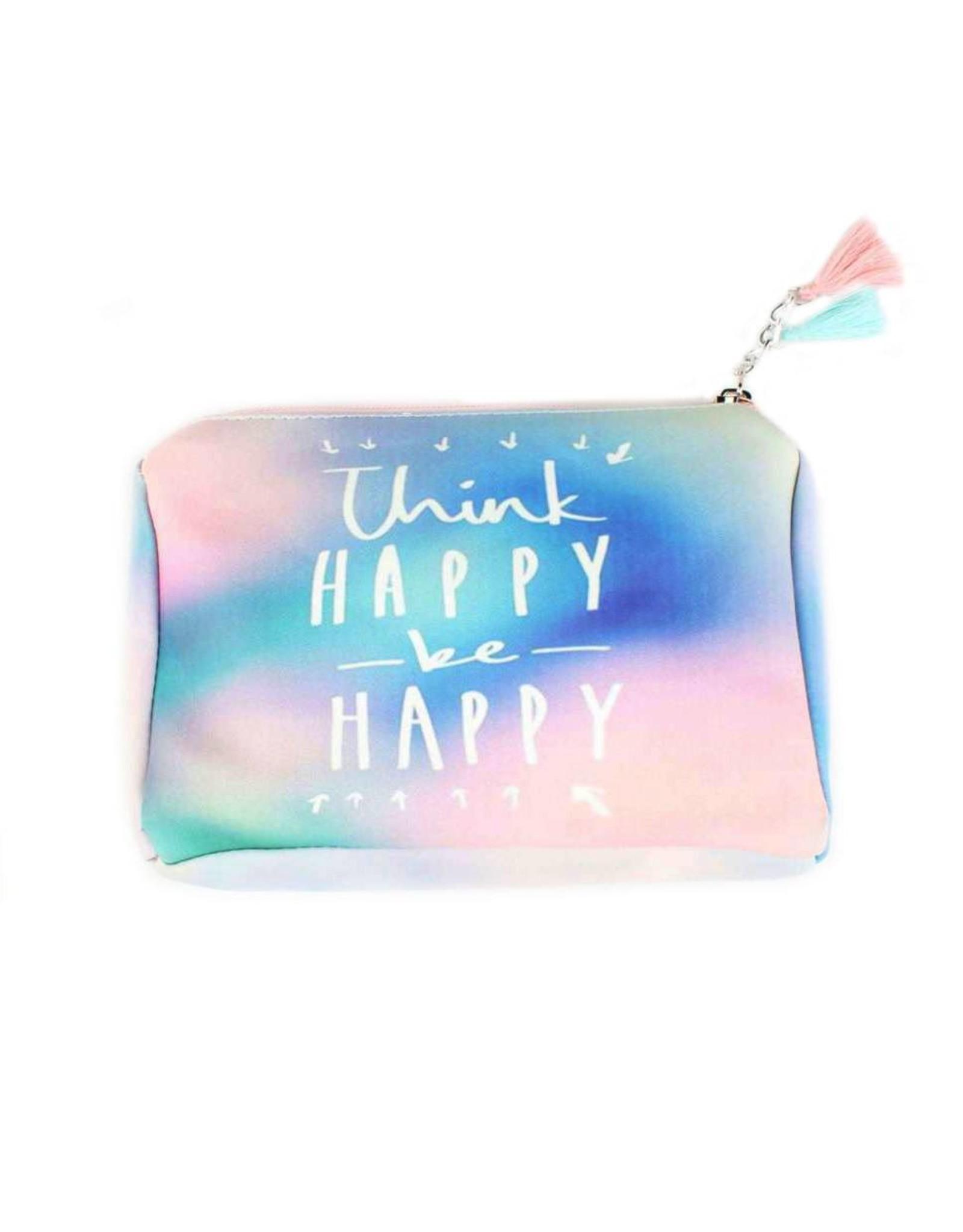 Toiletzakje 'Think happy'