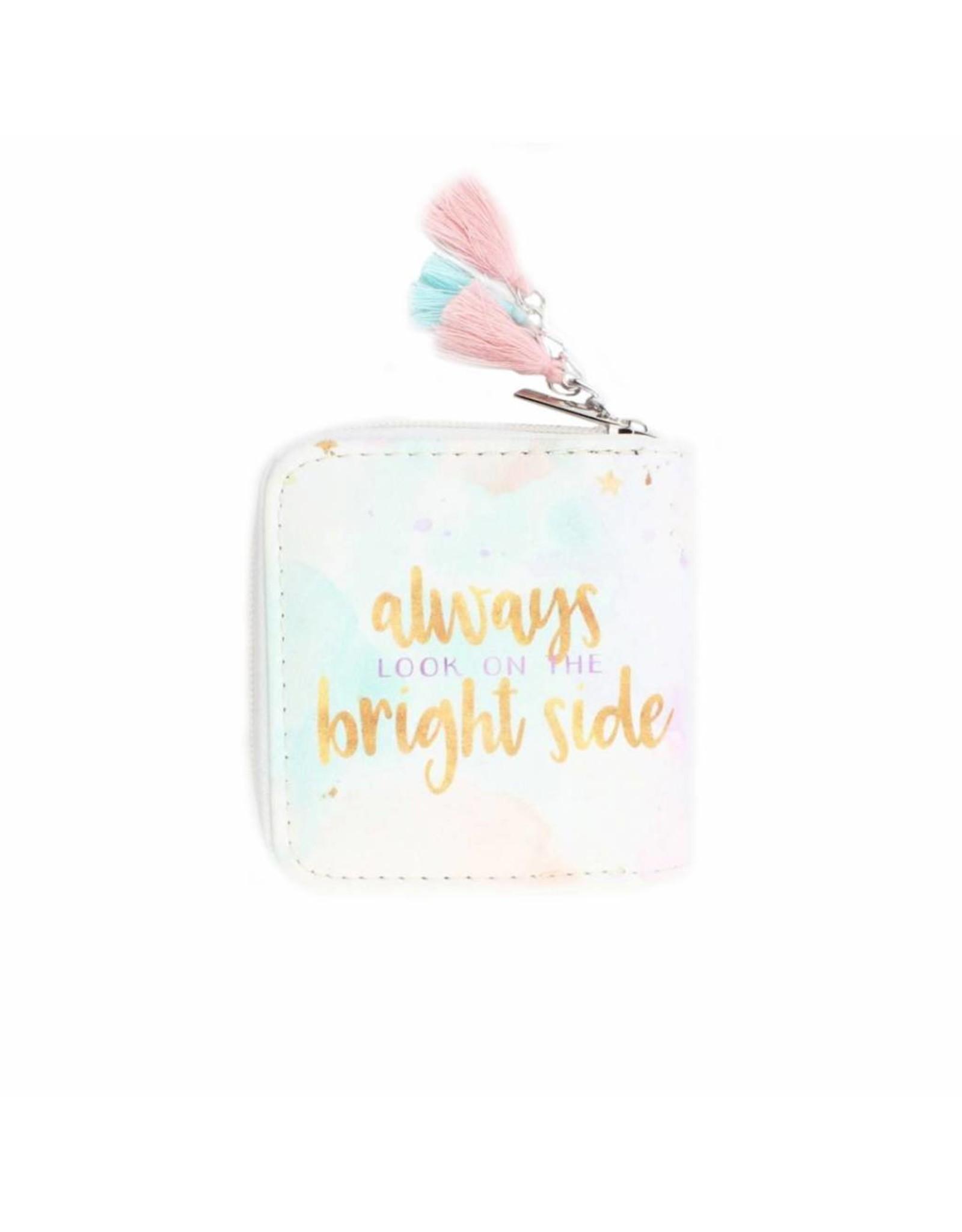 Portemonnee 'Always look on the bright side'
