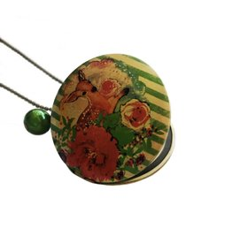 Locket Bambi groen