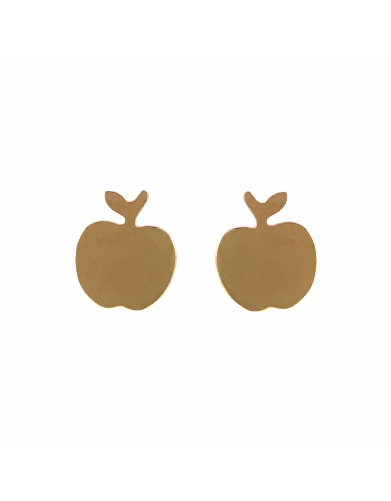 Stekertjes appel rose goudkleurig