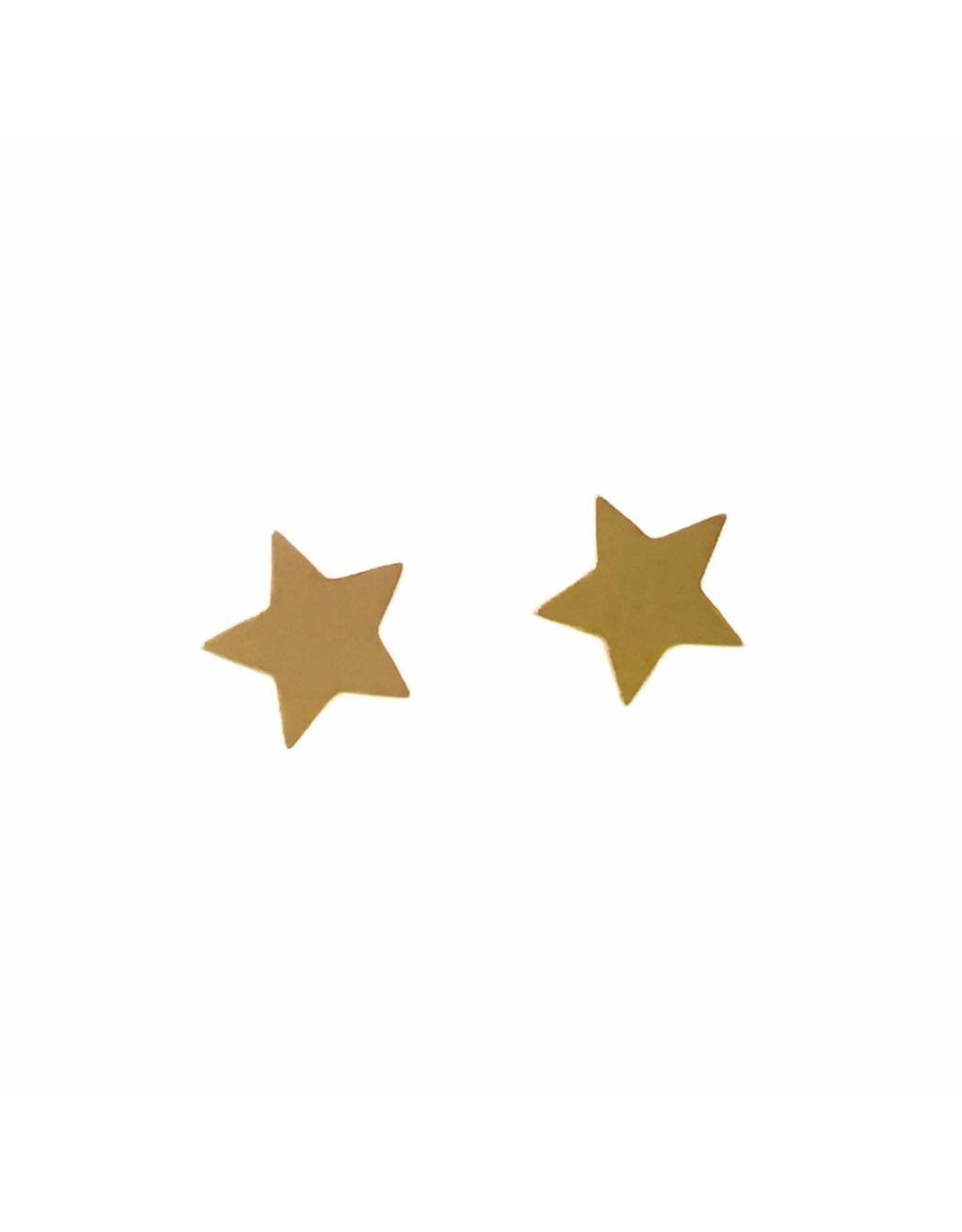 Stekertjes ster rose goudkleurig
