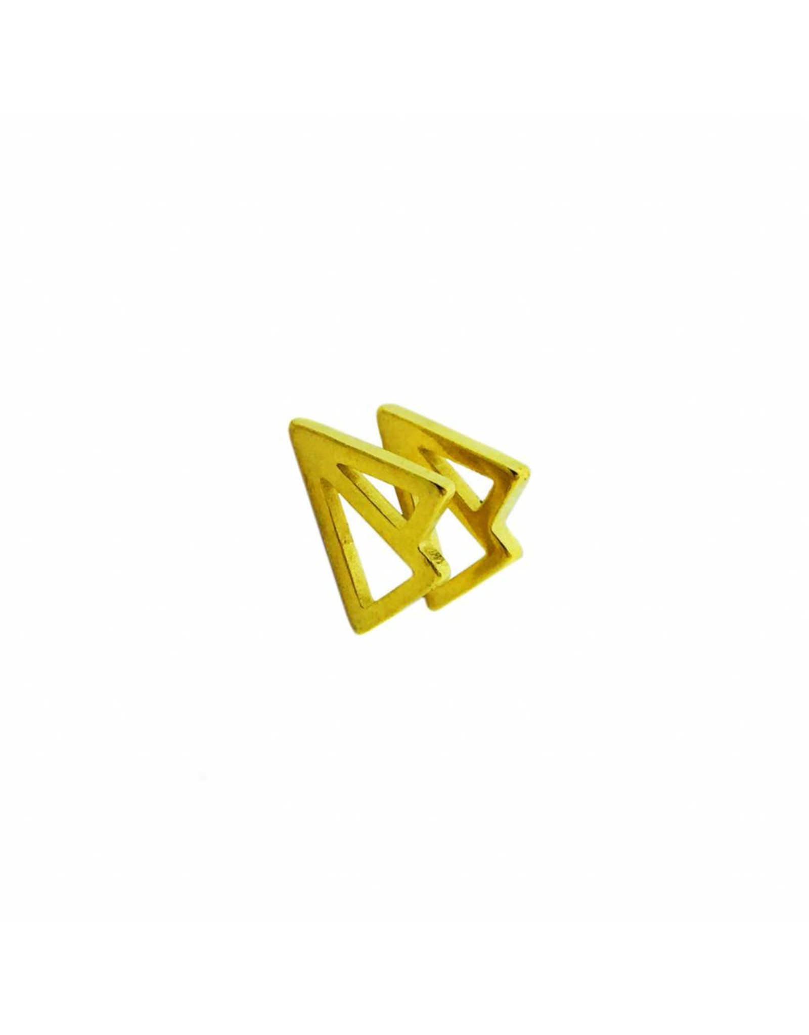 Stekertjes 3D vliegertje goudkleurig