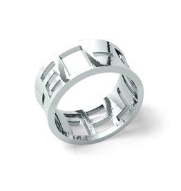 Bold ring 925 zilver