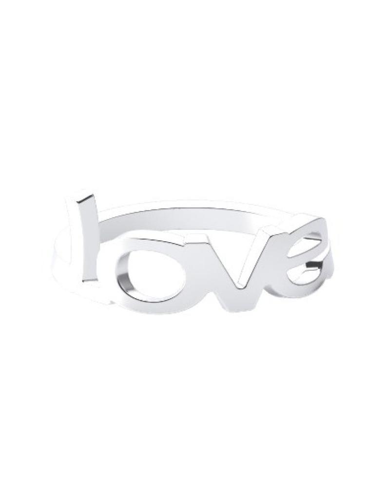 Modern ring 925 zilver