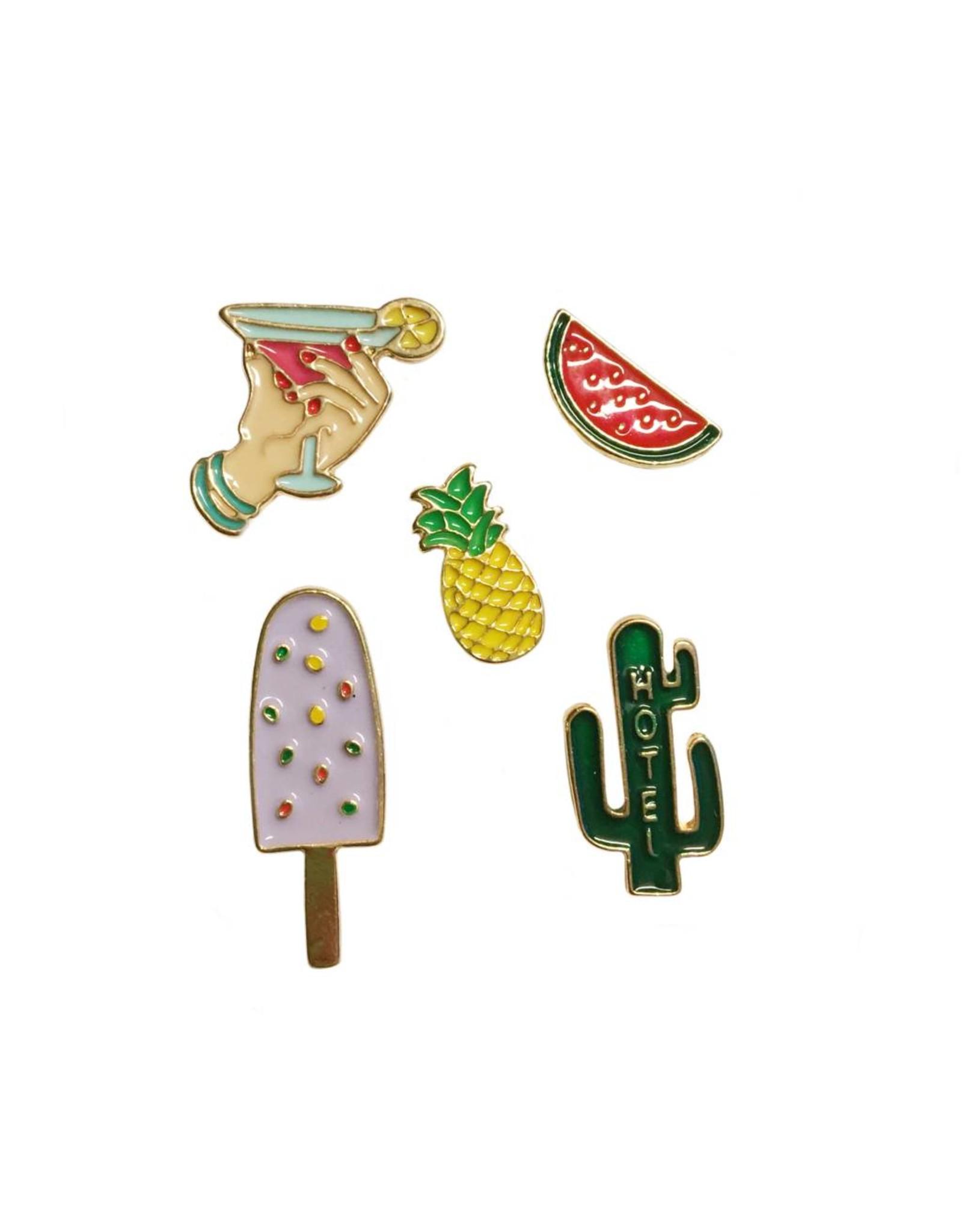 Pin setje cactus