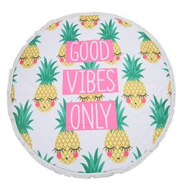 Y: Handdoek rond ananas