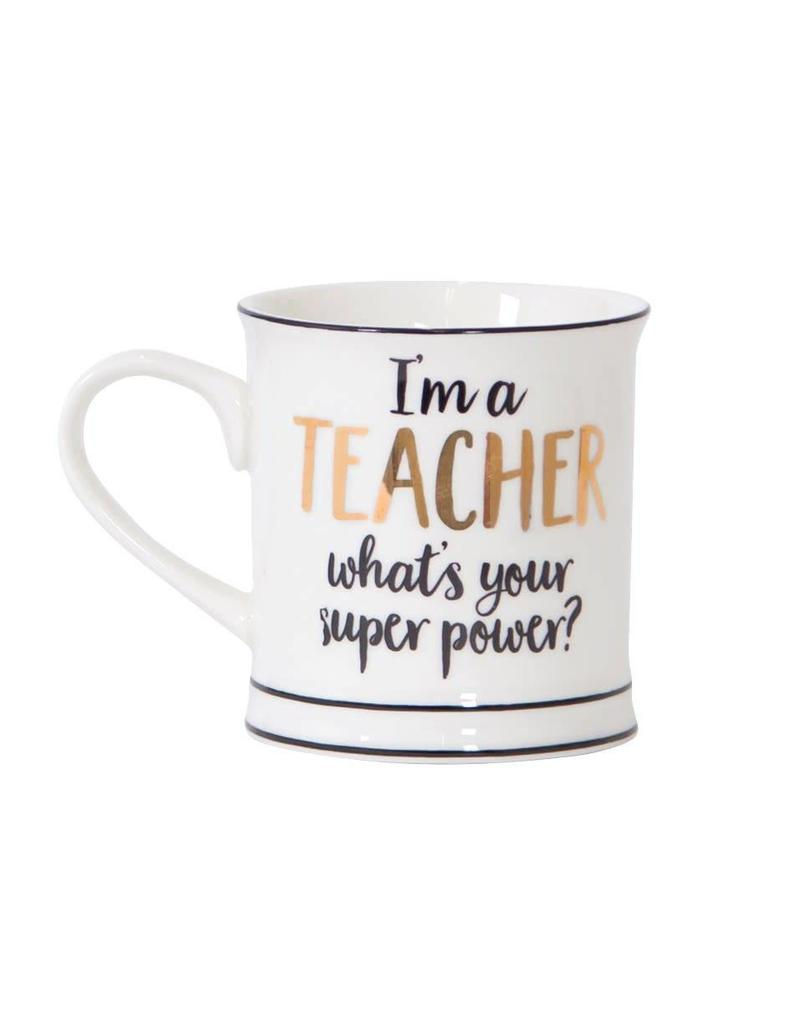 Tas goudfolie I'm a teacher, what is your superpower?